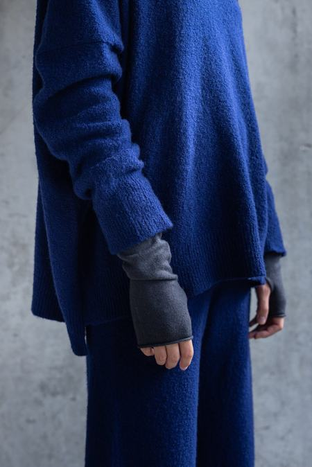 UNISEX Oyuna lecca cashmere gloves - iron