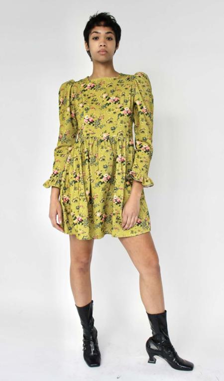 Mini Prairie Dress in Fairford-PRINTS