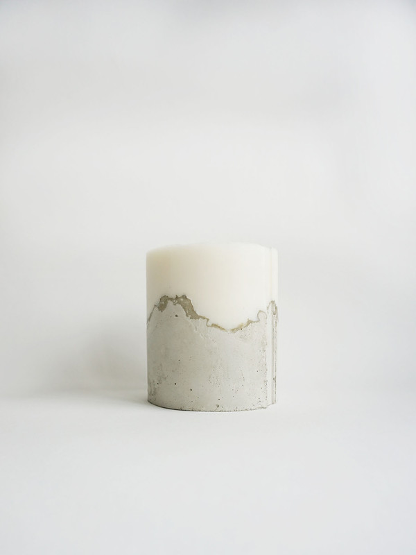NOVEL STUDIOS Concrete Candle - Palmarosa