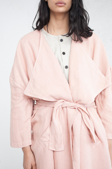 69 Minimal Trench in Dusty Rose