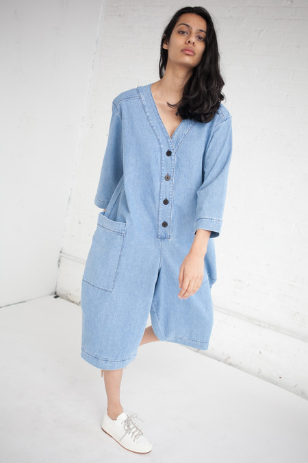 Unisex 69 Summer Cover Up in Medium Light Denim