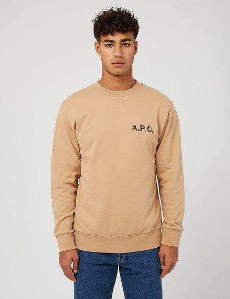 A.P.C. Jimmy Sweatshirt - Beige