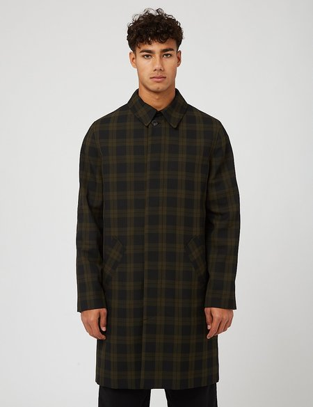 A.P.C. New England Mac - Khaki Green