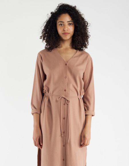 Ozma Mal Pais Dress Sand
