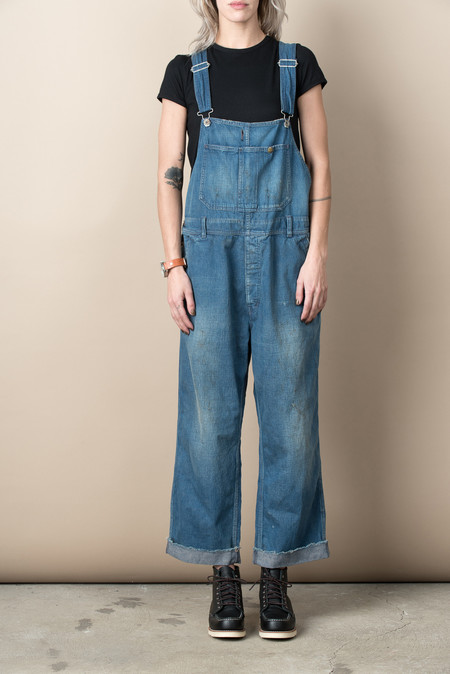 Chimala 10 oz Nep Denim Overall In Vintage