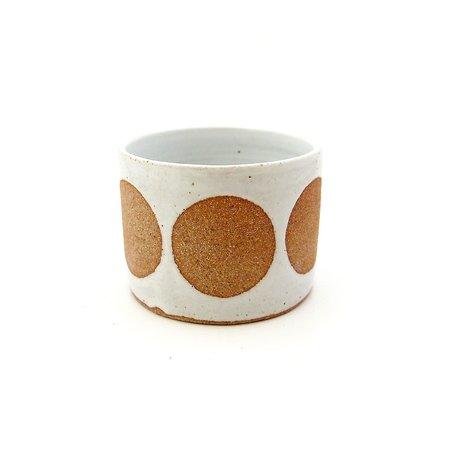 jen e ceramics Circle Planter - White/Neutrals