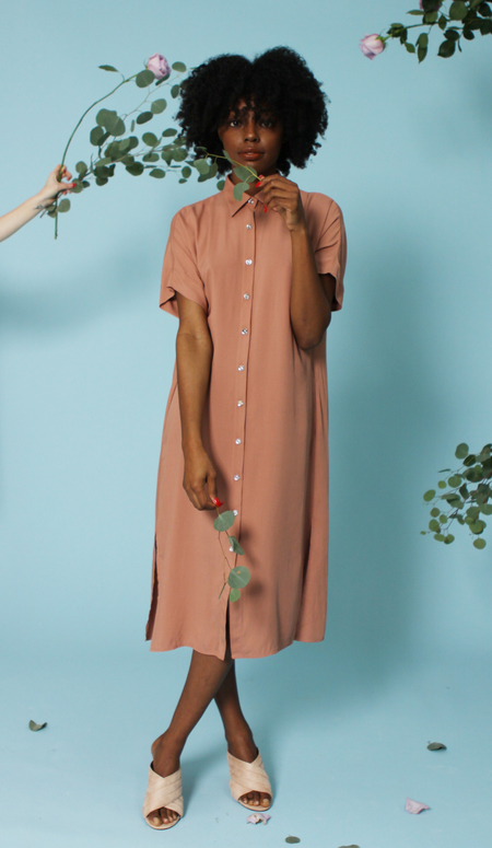 Plante Breeze Dress - Terra Cotta