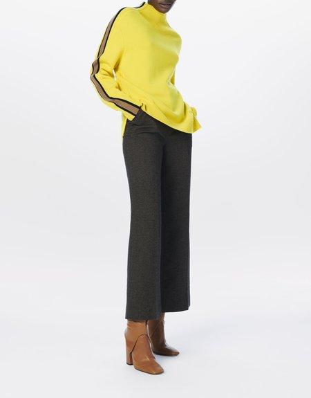 Victoria Beckham Turtleneck Jumper SWEATER - Sicilian Lemon