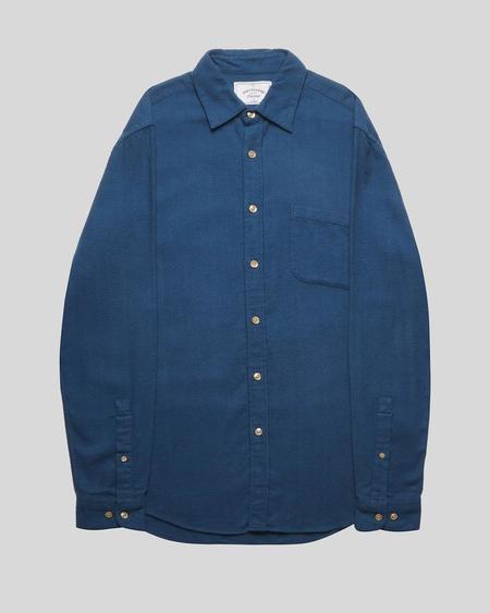 Portuguese Flannel Teca Shirt - French Blue