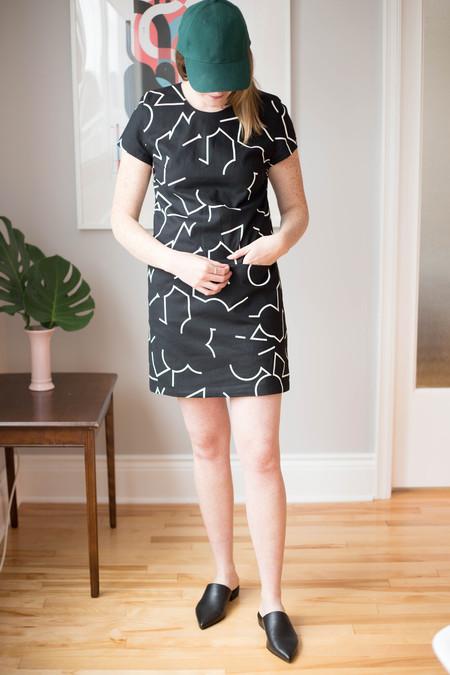 Eve Gravel Il Doodle Dress