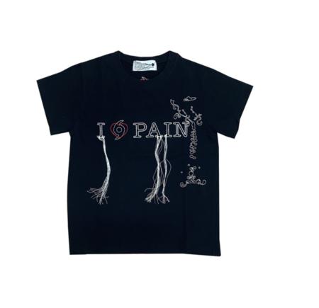 604servicePain T Shirt - Black