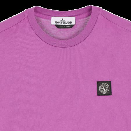 Stone Island T-Shirt  - Magenta