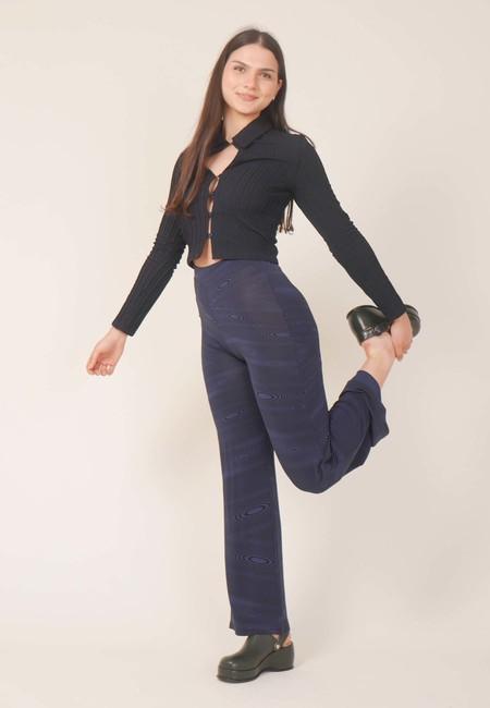 Paloma Wool Cenit Shirt - Dark Navy