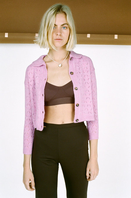 Tach Clothing Estela Cardigan - Pink