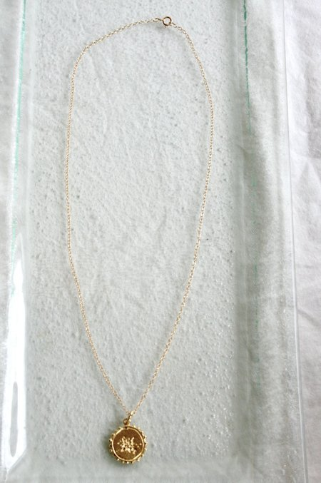 Mercurial Studio Scatter Necklace Simple Chain -  Gold