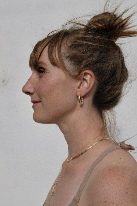 Mercurial Studio Vivie Hoops -  Gold