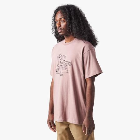 Carhartt WIP Stoneage T-shirt - Pink