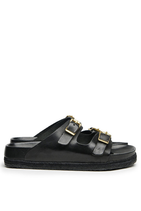 YUKETEN Leather Arizonian Sandal