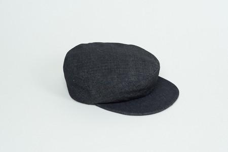 Clyde Acton Hat in Denim