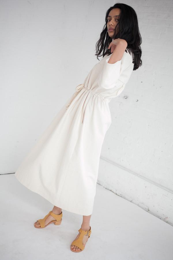 Caron Callahan Ari Dress in Japanese Cotton Canvas