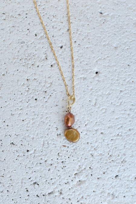 Mercurial Studio Pearl Stack Necklace - Warm