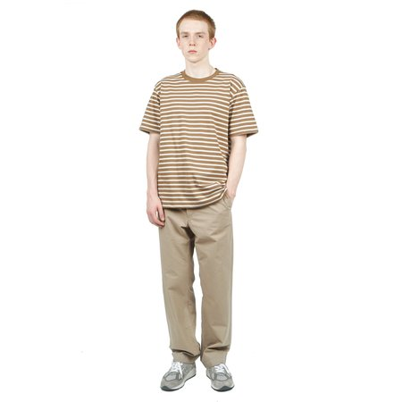 Norse Projects JOHANNES COLLEGE STRIPES top - DUFFLE
