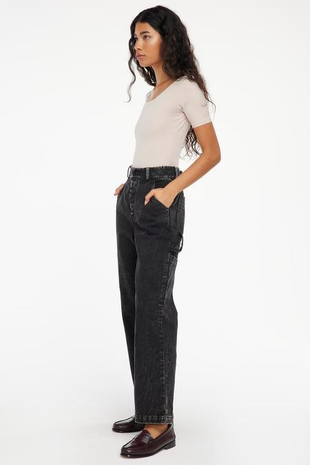Lacausa Aiden Trousers - Black Mineral Wash