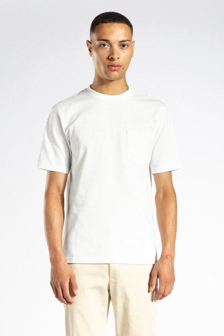 Norse Projects Johannes standard pocket T Shirt - white