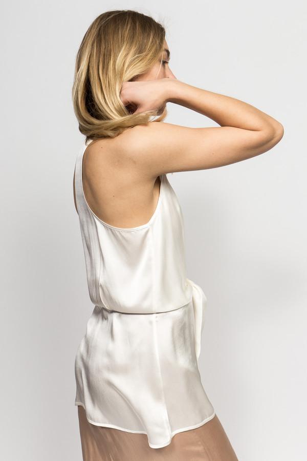 Angelique Chmielewski Silk Wrap Top