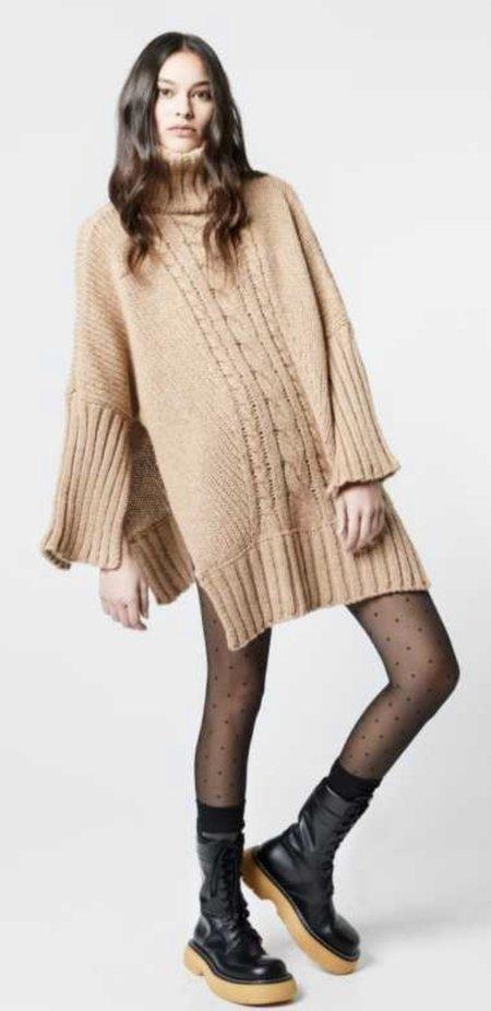 Smythe Turtleneck Blanket Sweater