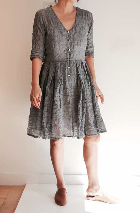 ATELIER DELPHINE KALELLE DRESS GRAPHITE