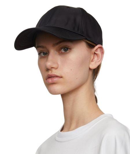 Just Female Orion Cap - Black