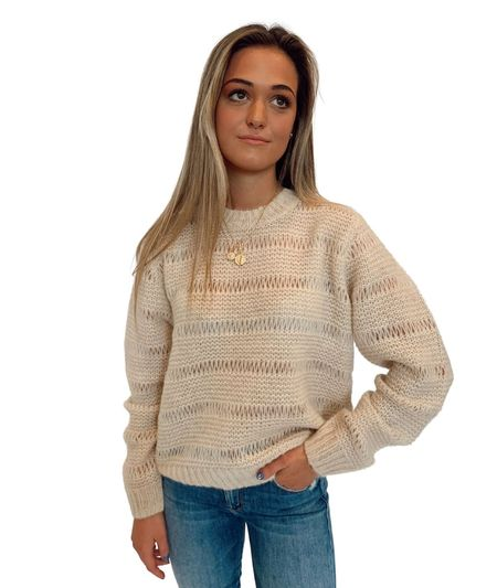 Just Female Sagi Knit - Buttercream
