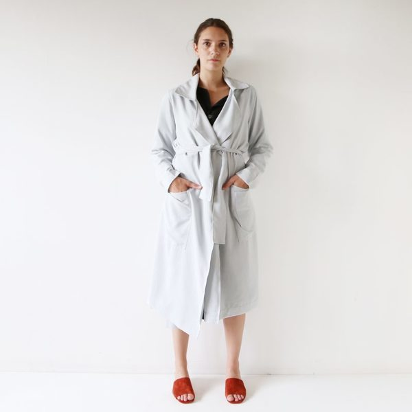 HACKWITH DESIGN HOUSE TRENCH COAT