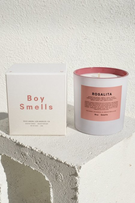 Boy Smells Rosalita Pride Candle