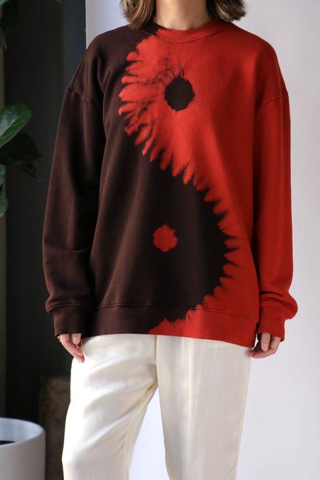 Raquel Allegra Drop Shoulder Sweatshirt - Firefly