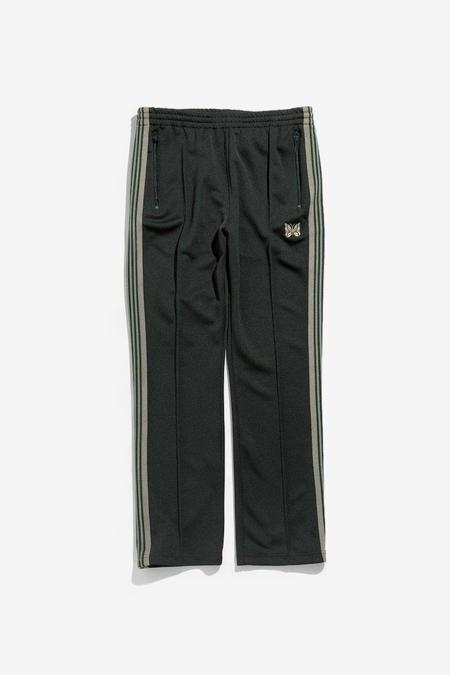 Needles Narrow Poly Smooth Track Pants - Dark Green