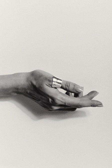 Hernán Herdez THUMB DE PLATA ring - Silver