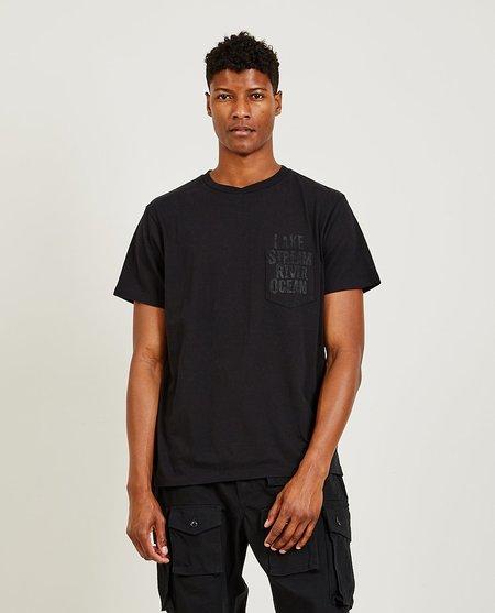 Engineered Garments Lake Tee - Black