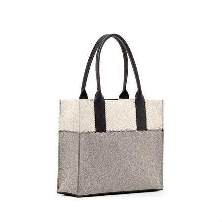 Graf Lantz Jaunt Petite bag - GRANITE/HEATHER WHITE