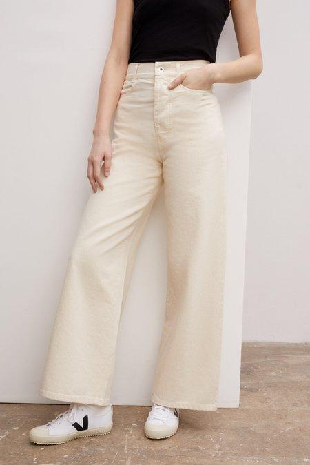 Kowtow Sailor Jeans - greige denim