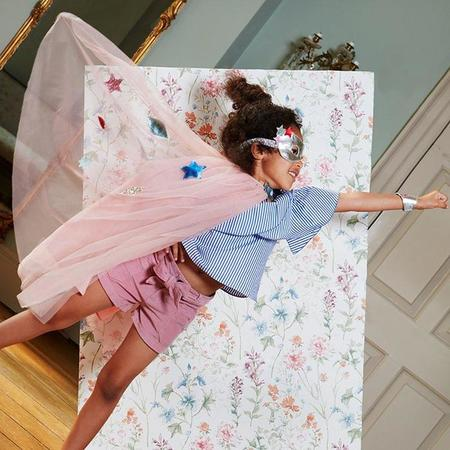 Kids Meri Meri Superhero Cape Dress Up Kit - Pink