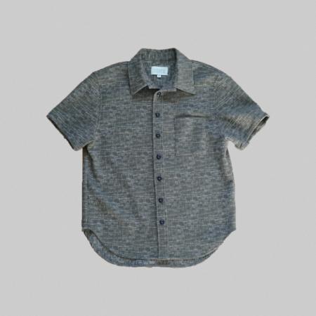 Reborn Garments Tweed Shortsleeve - Olive