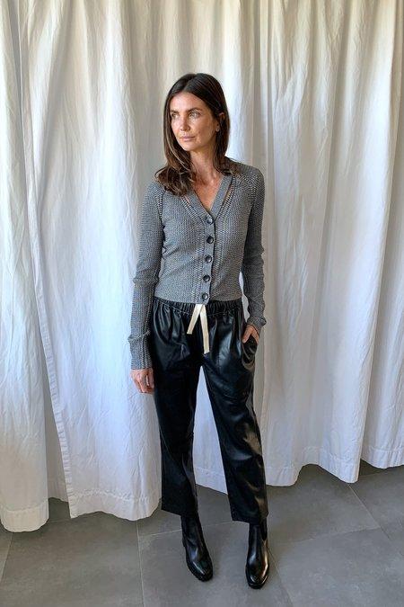 Proenza Schouler White Label Faux Leather Pants - black
