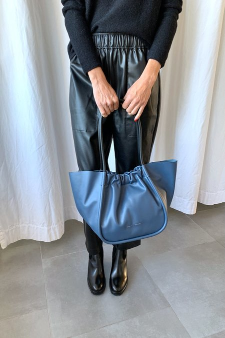 Proenza Schouler Large Ruched Tote - Blue