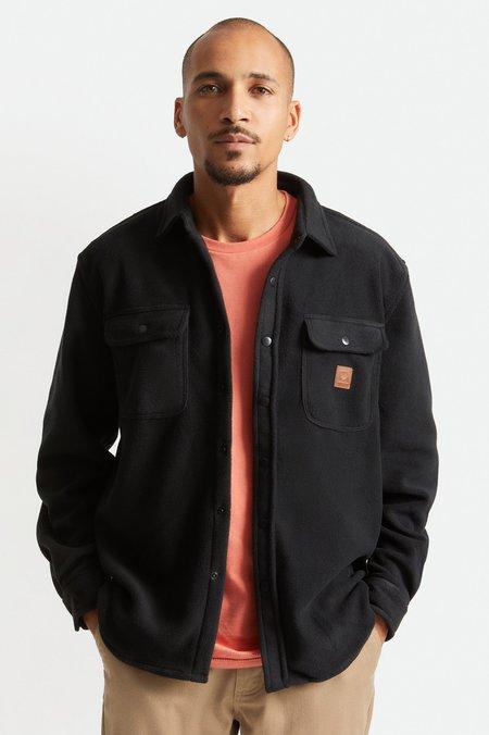 Brixton Bowery Arctic Stretch Fleece Shirt - Black