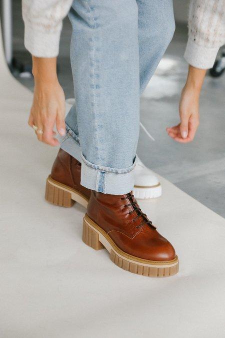 L'intervalle Kington Boot -Chestnut Brown