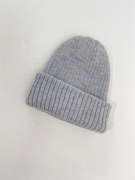 Wol Hide Marled Rib Hat