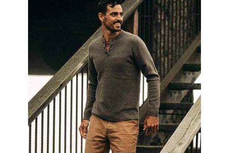 Taylor Stitch Hudson Sweater - Walnut