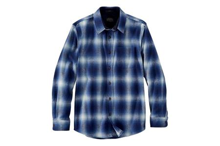 Pendleton Lodge Shirt - Blue Ombre